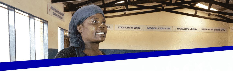 Lorni-voorzitter-Women-Empowerment-comite-Champiti-Malawi-The-Hunger-Project