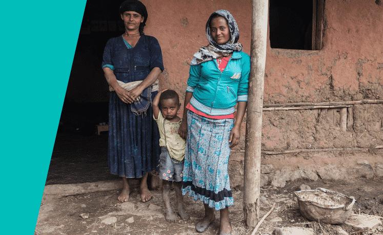 Alemtsehaye-Kibbete-en-moeder-Ewawoye-changemaker-Ethiopie-foto-Johannes-Odé-The-Hunger-Project