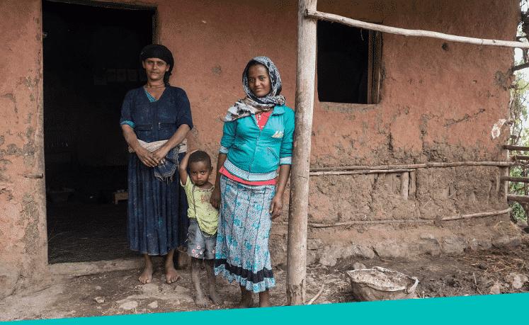 Alemtsehaye-Kibbete-en-moeder-Ewawoye-changemakers-Ethiopie-foto-Johannes-Odé-The-Hunger-Project
