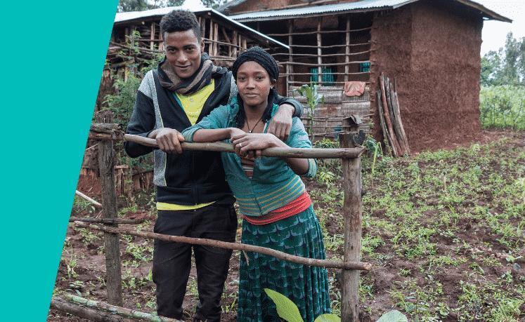 Aragaw-Muiv-en-Melkom-Titatu-changemakers-Machakel-Ethiopie-foto-Johannes-Odé-The-Hunger-Project